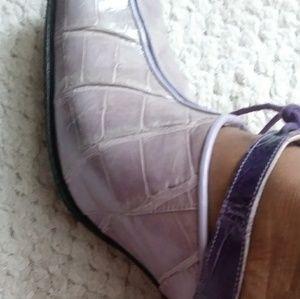Shoes - Genuine Alligator slip-in